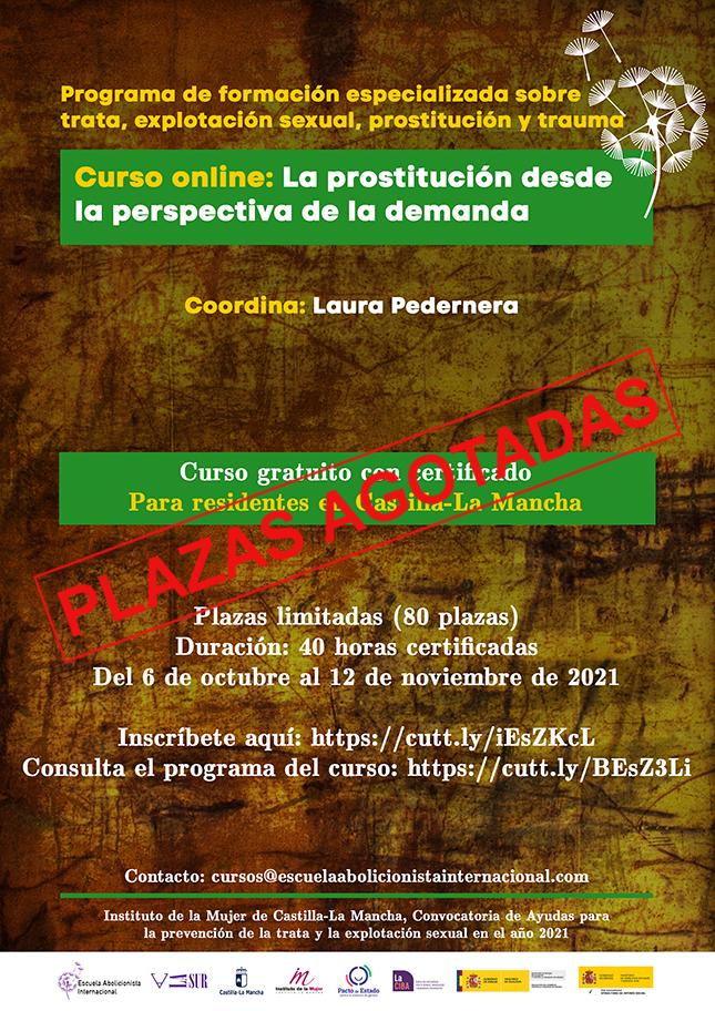 Curso online la prostitución desde la perspectiva de la demanda